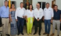 El Ministro viabilizó este jueves el proyecto de restructuración del sistema de redes de acueducto y alcantarillado de El Rodadero.