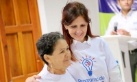 iniciativa que benefició a 212 madres cabeza de familia.
