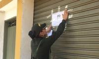 La Policía cerró los establecimiento porque estaban infringiendo el Código de Policía.