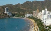 Cotelco destaca el arribo del turismo internacional a Santa Marta.