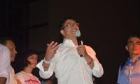 Gustavo Petro, durante su intervención en Santa Marta.