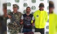 """Jorge Mendoza, presunto integrante de """"Los Caballeros""""."""
