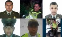 Policías muertos en atentado Estación San José.