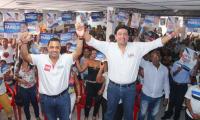 Hoy se realizará gran concentración en Ciénaga por motivo de cierre de campaña de Carlos Mario Farelo y Fabián Castillo.