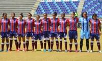 Unión Magdalena femenino se alista para el primer clásico costeño de fútbol femenino.