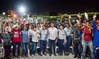 Rubén Jiménez, candidato a la Cámara para representar al Magdalena, se reunió con empresas de distintos gremios de la ciudad.