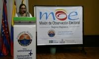 Ambas instituciones trabajaron en conjunto para identificar los municipios con riesgos electorales en el Magdalena.