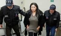 Oneida Pinto, detenida por corrupción.
