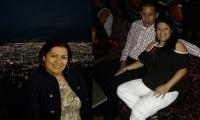 Rosileny Huertas y su presunto asesino, quien era su esposo.