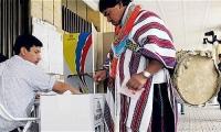 El voto en blanco se incrementó en las elecciones de Circunscripción Indígena.