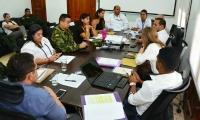 Comité de alerta temprana convocado por la Alcaldía.