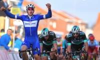 El monteriano Álvaro Hodeg celebrando su triunfo.