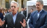 Álvaro Uribe e Iván Duque.