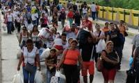 El triste éxodo de los venezolanos a Colombia