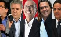 Candidatos presidenciales.