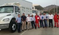 Empleos directos e indirectos se generaron con la compra de  nuevos camiones.
