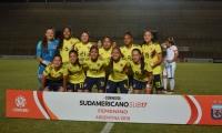 Selección Colombia Femenina sub 17, subcampeona y clasificada al Mundial.