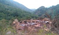 Incendio en comunidad Kogui, de la Sierra Nevada de Santa Marta.