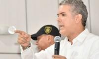 Iván Duque, candidato a la presidencia.