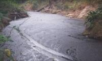Así se ve el agua del río Sogamozo