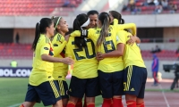 Colombia no tuvo compasión de Uruguay y la goleó 7-0.
