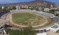 Panorámica del Estadio Eduardo Santos, próximo a ser declarado patrimonio deportivo y cultural.