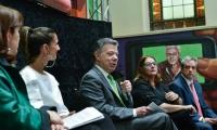 El Presidente Santos valoró la encuesta del DANE.
