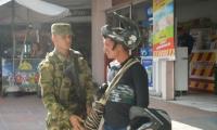 Operativos para reducir la inseguridad en Santa Marta.