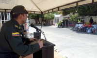 La jornada será lidera por el Coronel Gustavo Berdugo Garavito, Comandante de la Policía Metropolitana de Santa Marta.