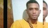 Miguel Andrés Viloria Martínez, de 23 años, recibió cuatro impactos de bala en un cruce de disparos con la Policía.