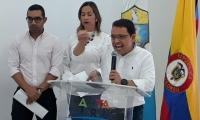 El alcalde socializó el decreto 090 de 2018 que busca mejorar el sistema de transporte público.