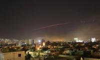 En Siria activaron métodos antiaéreos para evitar que misiles los afecten.
