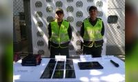 Elementos recuperados por la Policía.