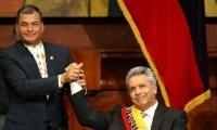 Rafael Correa y el presidente de Ecuador, Lenín Moreno.