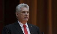 Miguel Díaz-Canel fue elegido hoy presidente de Cuba por la Asamblea Nacional.