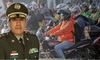 Ramiro Castrillón ,director de Tránsito y Transporte de la Policía Nacional