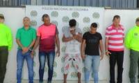 los presuntos delincuentes son sindicados por los delitos de abuso sexual con menores de edad.