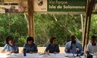 El Ministerio de Ambiente y Desarrollo Sostenible ordenó la suspensión de las actividades que afectan al ecosistema.