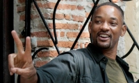 El actor Will Smith de visita en Cartagena.