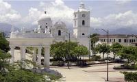 Plaza Centenario del municipio de Ciénaga.