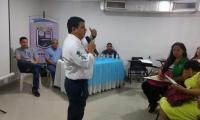 El profesor Jaime Morón, de Unimagdalena, lidera la iniciativa de socialización junto al grupo de investigación GACE.