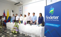 La reunión de socialización se llevó a cabo en las instalaciones de la Gobernación del Magdalena.