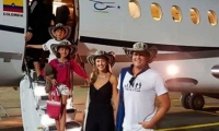 Carlos Vives hace presencia en la capital de Cesar con su familia.