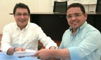 Carlos Caicedo y Rafael Martínez.