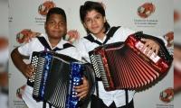 Jerónimo Andrés Villazón Murillo y Yerson Robles Peña, los nuevos Reyes Vallenatos en la Categorías Infantil y Juvenil.