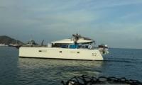 La embarcación fue rescatada durante la mañana de hoy.