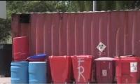 Residuos del Hospital Clarence Lynd Newball Memorial de San Andrés.