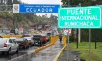 Frontera con Ecuador.