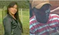 La mujer herida y su expareja. Él la dejó cuadrapléjica tras propinarle 4 tiros y se disculpó por WhatsApp.