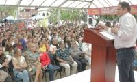Vargas Lleras en su cierre de campaña en Antioquia.